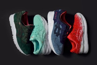 "ASICS Gets Festive With New GEL-Lyte ""Christmas"" Pack"