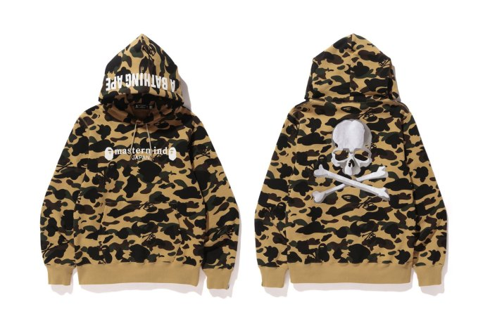 The Full BAPE x mastermind JAPAN Collaboration Is Finally Unveiled
