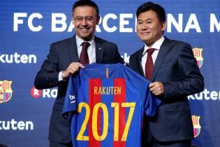 Leaked Images Reveal FC Barcelona's New Rakuten-Sponsored Kit
