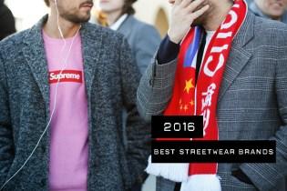 The Best Streetwear Brands of 2016