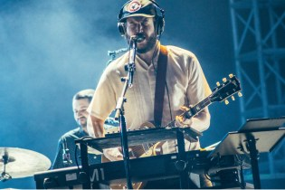 Watch Bon Iver's Epic Brooklyn Warehouse Performance for NPR