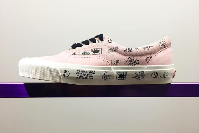 Brain Dead's First Footwear Collaboration Is Almost Here