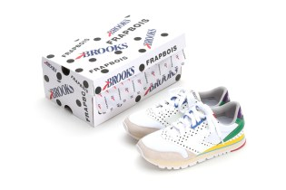 Brooks Heritage Teams up With Frapbois to Put a Polka-Dot Spin on the Chariot Silhouette
