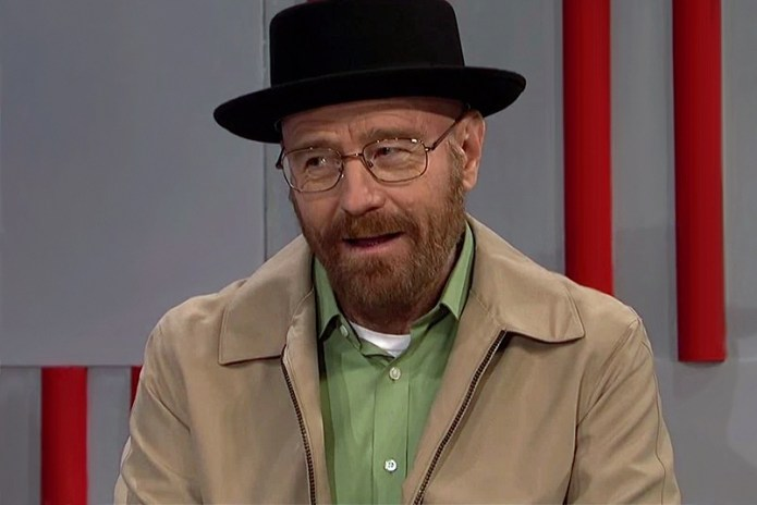 Bryan Cranston Returns as Walter White on 'SNL'
