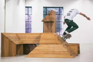 Carhartt WIP's 'Paving Space' by Raphael Zarka Explores Skateboarding and Mathematical Theories