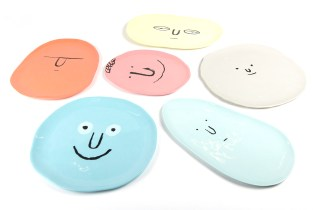 Case Studyo Creates a Characterful Plate Collection With Artist Jean Jullien