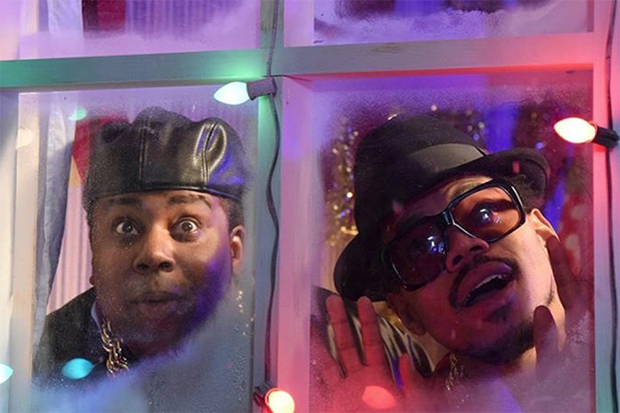 Chance the Rapper Pays an 'SNL' Tribute to Obama in This Run-D.M.C.-Themed Christmas Parody