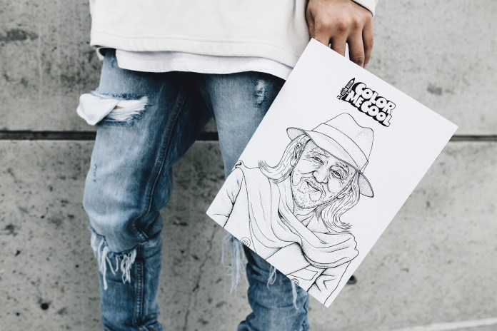 COLOR ME COOL's First Adult Coloring Book Is a Who's Who of Today's Cultural Icons