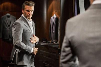 David Beckham Gives Us a Peek Behind the Scenes at Kent & Curwen