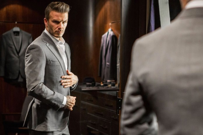 David Beckham Gives Us a Peek Behind the Scenes at Kent & Curwen