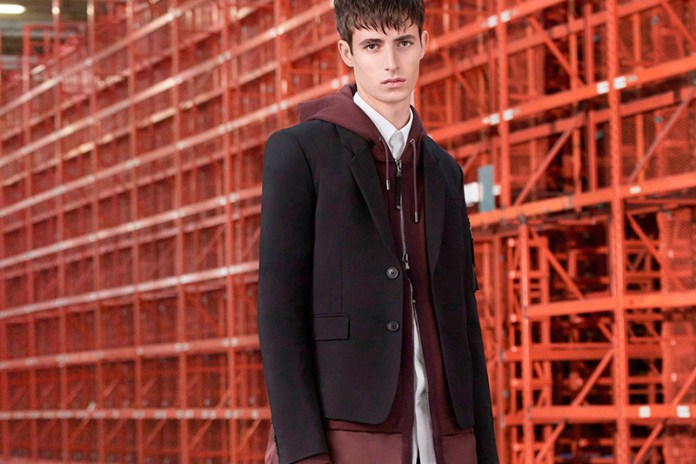 Diesel Black Gold Executes Upscale Athleisure in Its 2017 Pre-Fall Collection