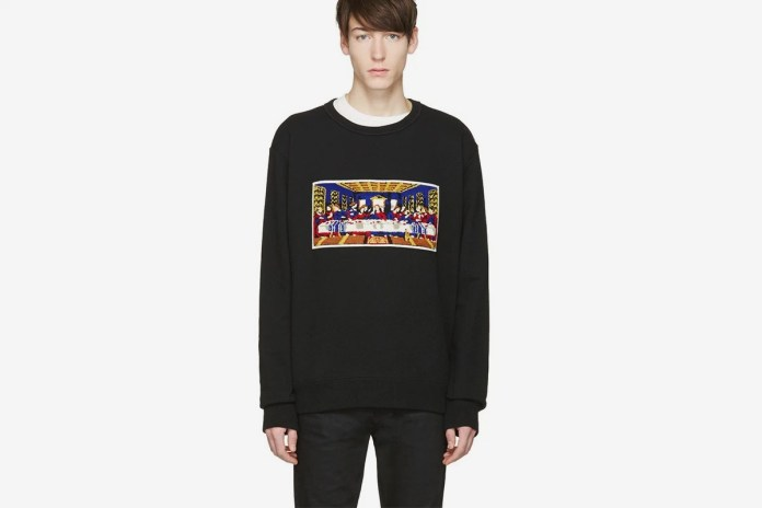 FACETASM's 2016 Fall/Winter Pullover References the Last Supper