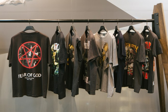 "Preview Fear of God's ""Resurrected T-Shirt Project"" at BOON THE SHOP"