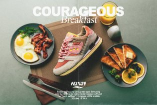 Feature & Saucony Serve up a Courageous Breakfast