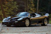 A Ferrari Nero F50 Is up for Sale