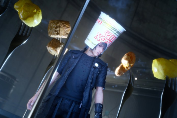 "'Final Fantasy XV' Gets the NISSIN Treatment In ""CUP NOODLE XV"""