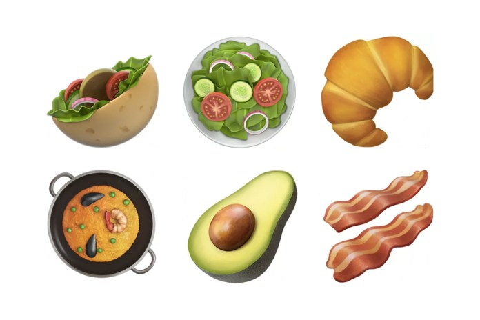 Avocado and Bacon Emojis Arrive With Apple's Latest iPhone Update
