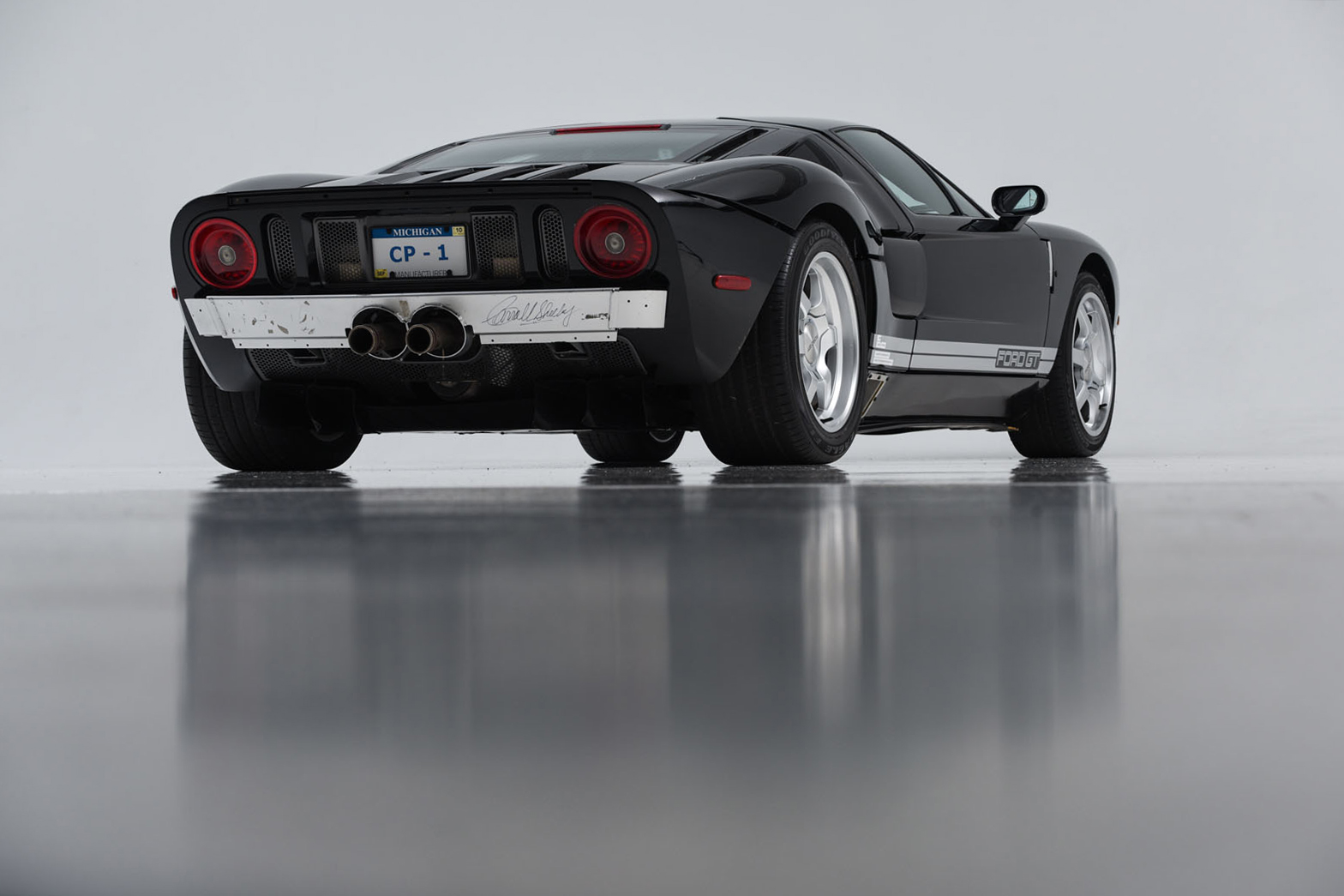 Ford GT Prototype Auction Carroll Shelby Bill Ford