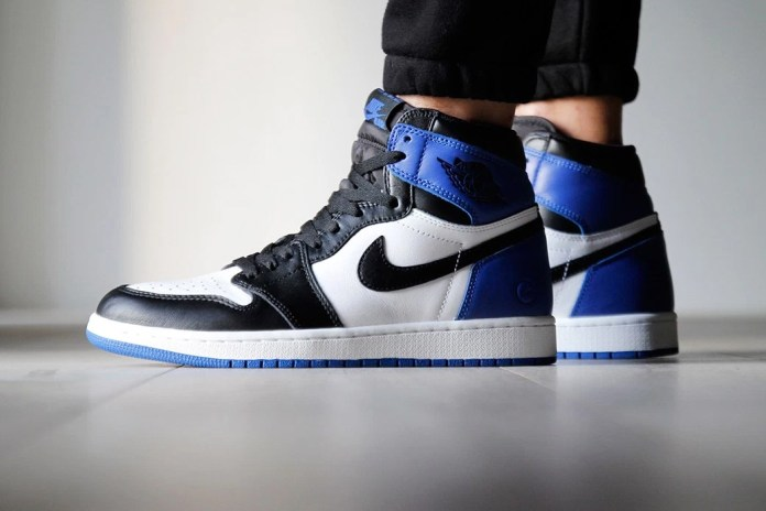 The fragment design x Air Jordan 1 Is Selling at Marshalls for $60 USD