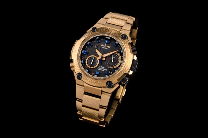"G-SHOCK Unveils the Japanese-Inspired MRG-G1000 ""Gold Hammertone"""