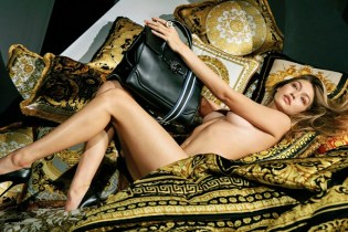 Gigi Hadid Strips Down for Versace's 2016 Winter Campaign