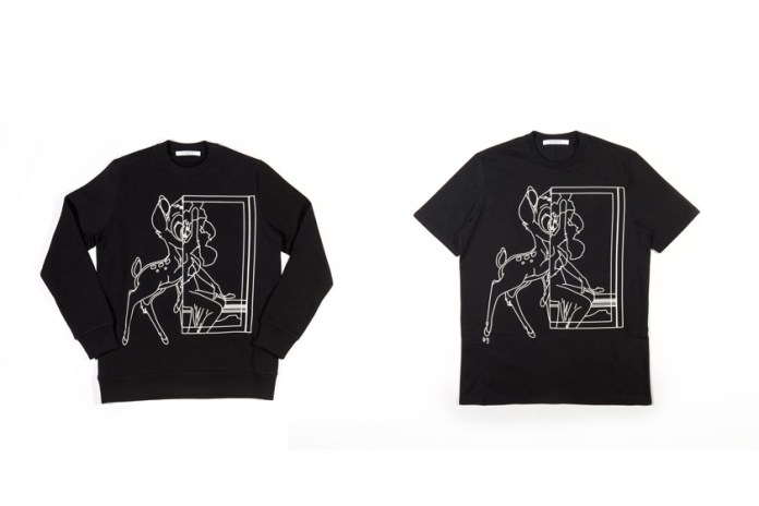 Givenchy Re-Releases the Bambi Print for Its 2017 Spring Collection