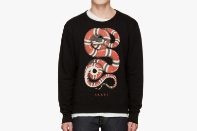 Gucci's Black Snake Pullover Will Add Some Flair to Your Sweater Collection