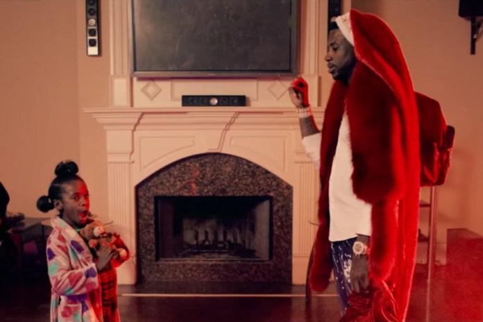 "Gucci Mane Becomes Trap Santa in New Video for ""St. Brick Intro"""
