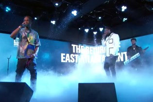 Watch Gucci Mane and Travis Scott Perform Together on 'Jimmy Kimmel Live!'