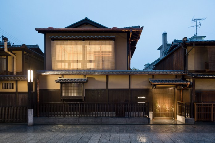 Hermès Pop-Up Inside a Kyoto Traditional Townhouse Celebrates Daimaru Kyoto's 300th Anniversary