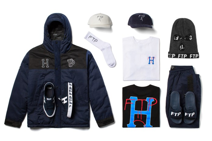 HUF and FTP Team up for Their Second Collection