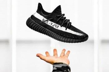 HYPEFEET: The Latest adidas Originals YEEZY BOOST 350 V2 Black/White Hits Social Media Hard