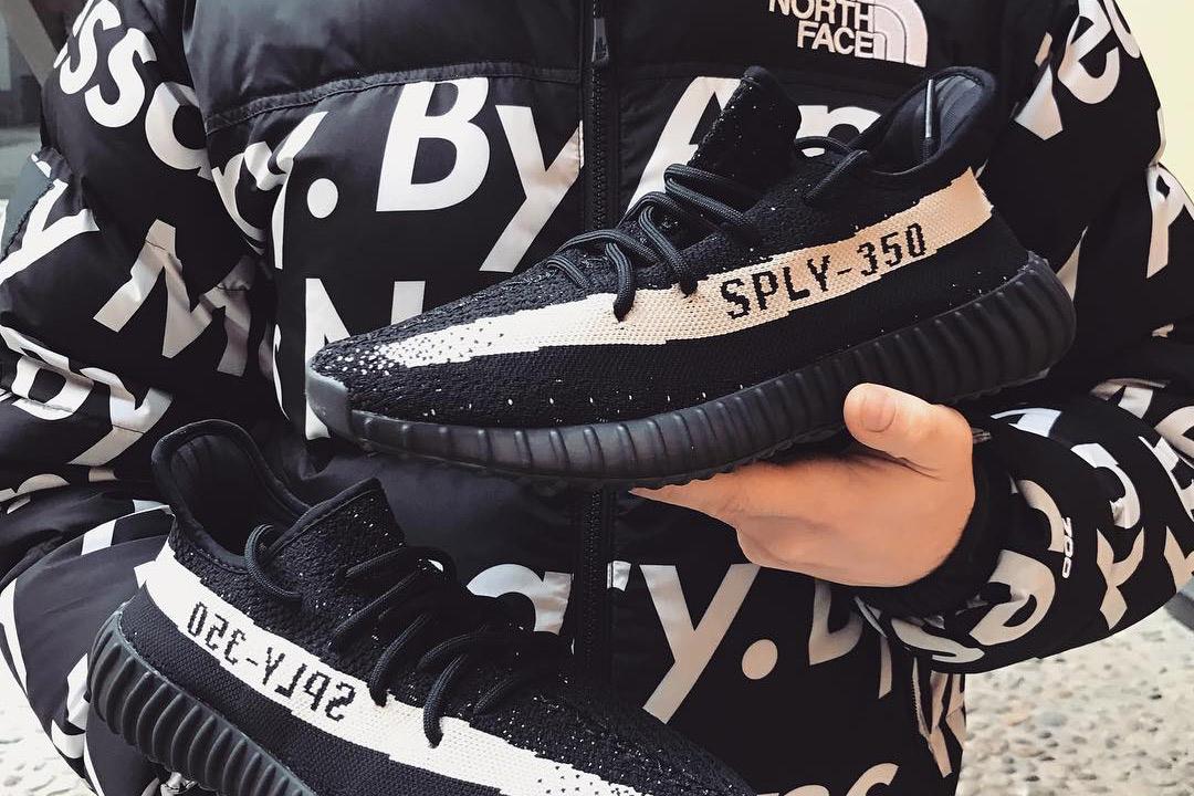 adidas originals yeezy boost 350 v2 black/white/black adidas yeezy black boost 350 for sale
