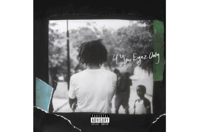 J. Cole's '4 Your Eyez Only' Album to Release Next Week