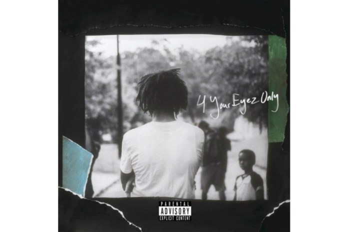 Stream J. Cole's '4 Your Eyez Only' Album Now