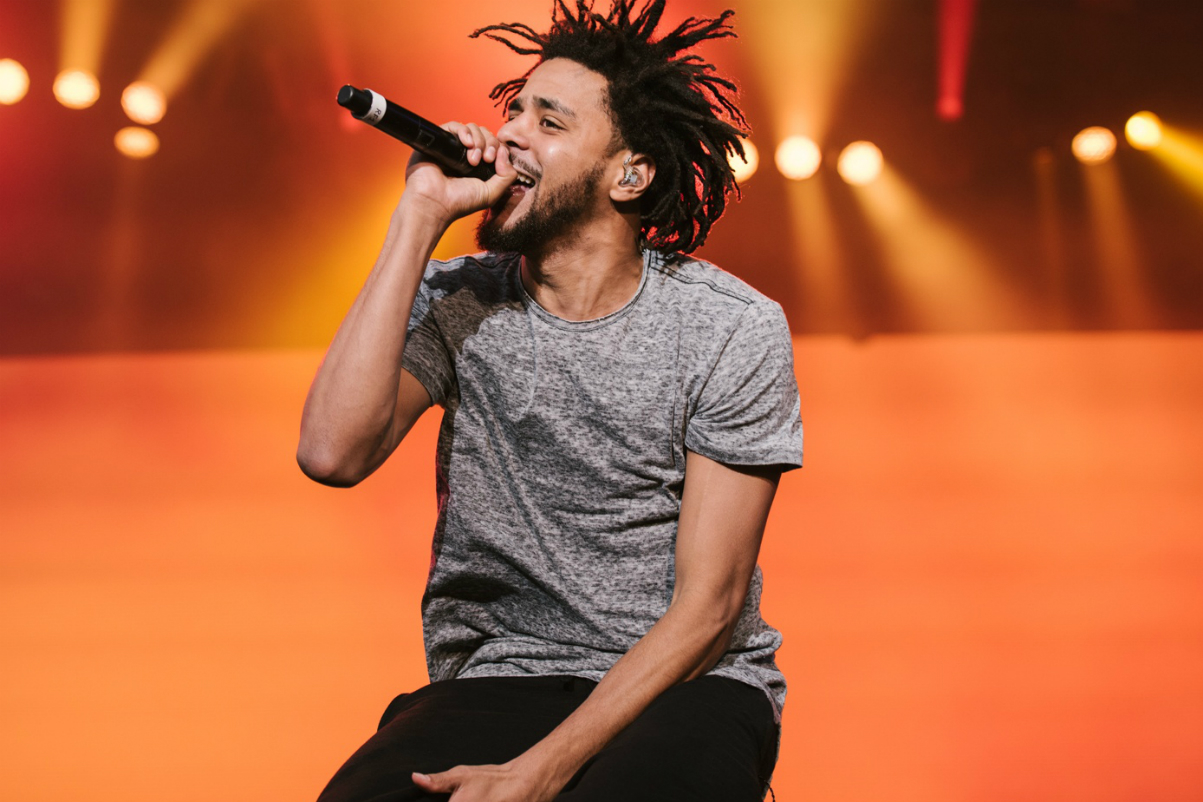 J. Cole 4 Your Eyez Only Album Number 1 Billboard 200
