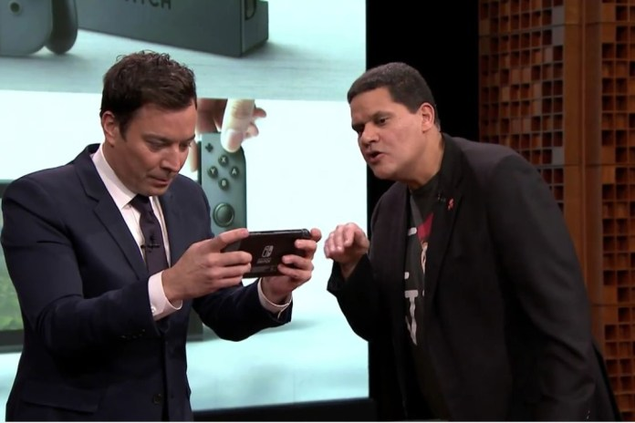 Watch Jimmy Fallon Debut the Nintendo Switch