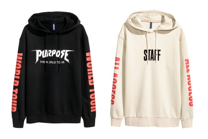 Justin Bieber's Purpose Tour Merch Is Now Available at H&M for Under $35 USD
