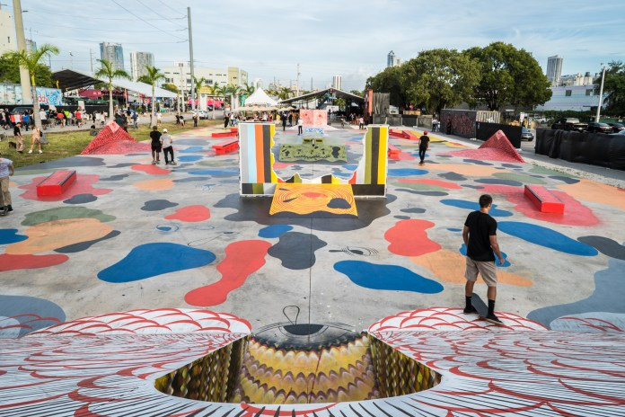 The Juxtapoz Clubhouse for Art Basel 2016 Featured Live Tattoo Sessions, Skate-Able Art Installations and More