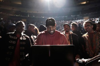 Picture of Kanye West Working with Producer Pete Rock for What Could Be the 'Turbo Grafx 16′ Album