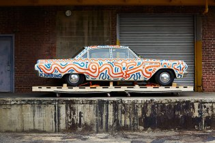 Keith Haring's Art Revisited at New Car Exhibition