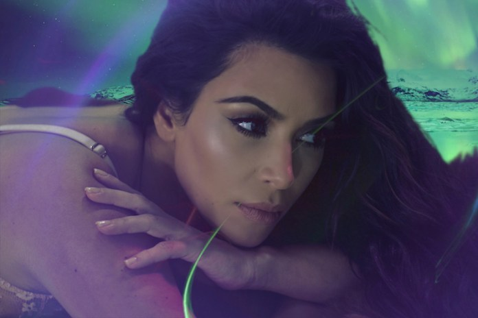 Watch Kim Kardashian West Make Her Ethereal 'LOVE' Advent Calendar Debut
