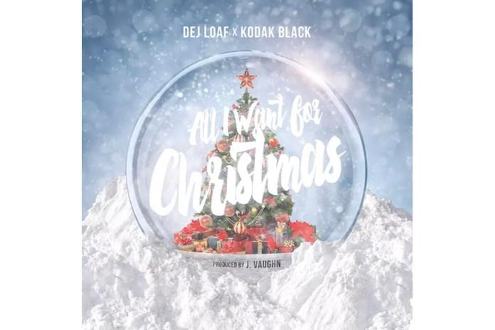 "Kodak Black & DeJ Loaf Release ""All I Want for Christmas"""