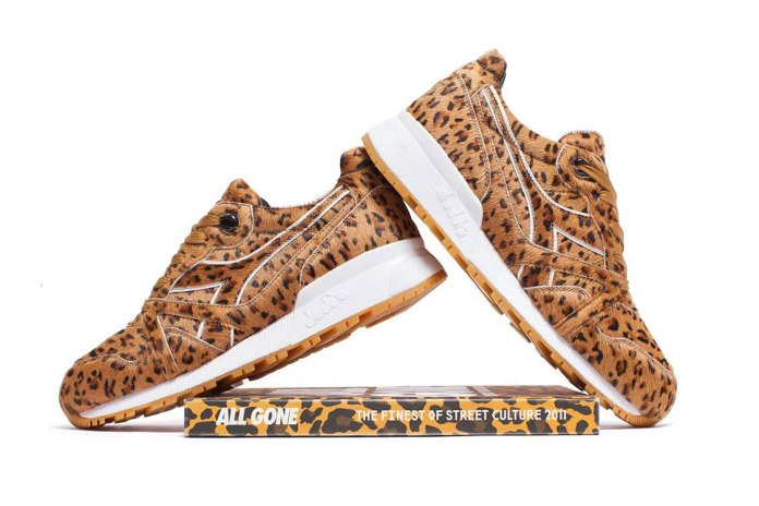 "La MJC and Diadora's Newest ""All Gone"" Sneaker Turns Cheetah"