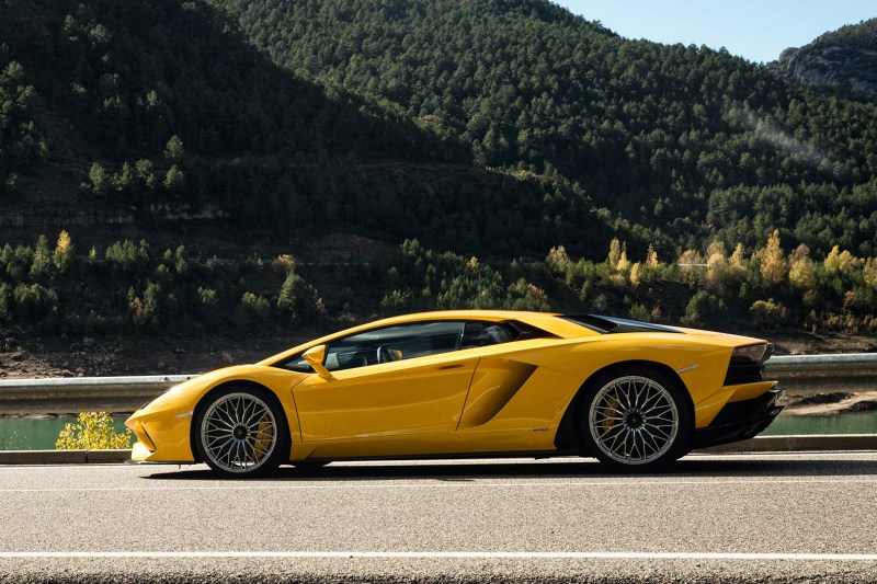 The Lamborghini Aventador S Coupe Is Newest Member In Historic Line