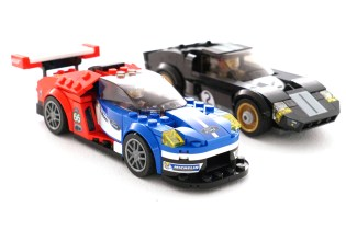 LEGO Celebrates Ford GT's 2016 Le Mans 24 Win by Releasing Two Versions of the GT40