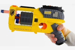 This Toy Enthusiast Recreated a Functional Nerf Gun Using LEGO