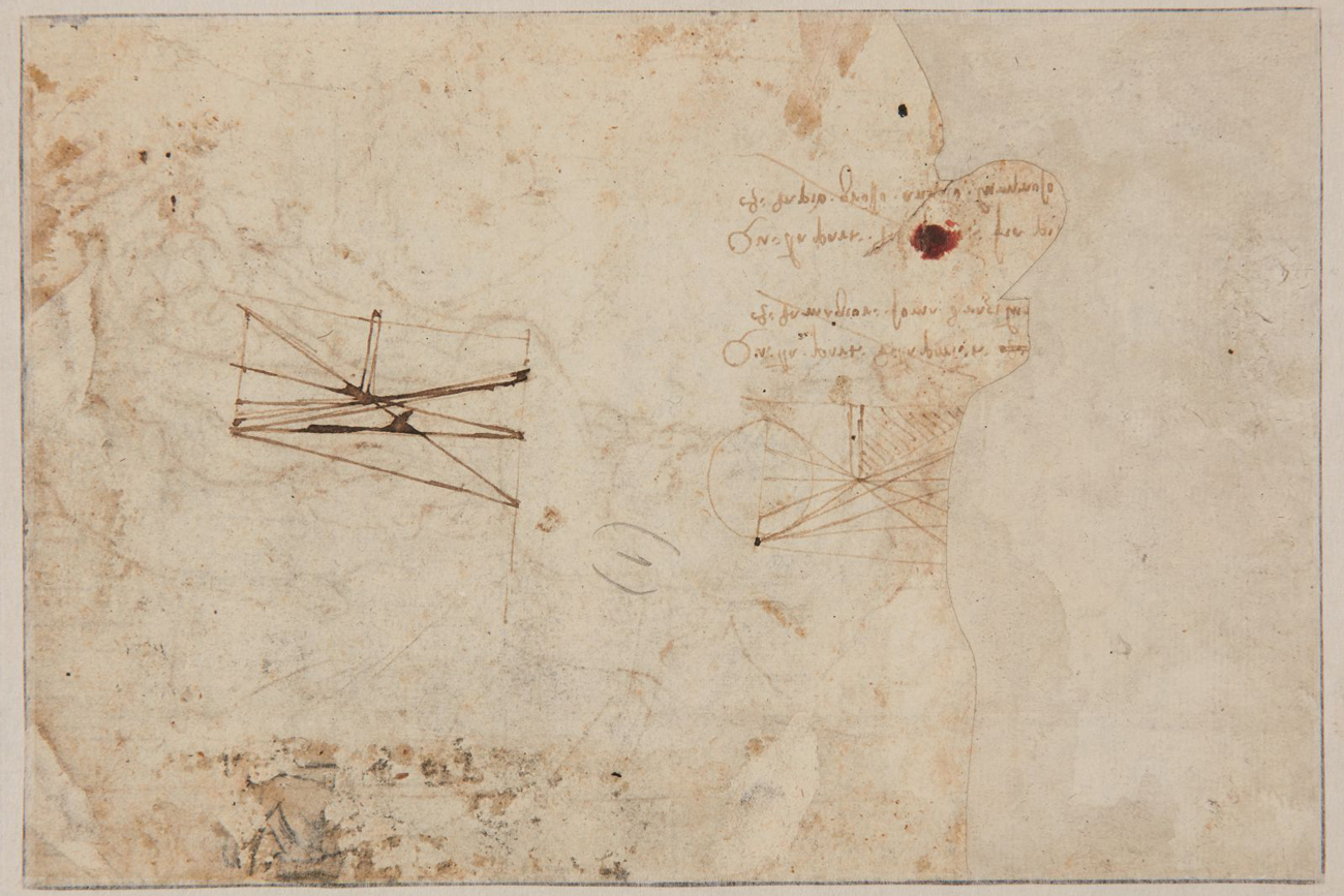 Leonardo da Vinci Sketch Discovered