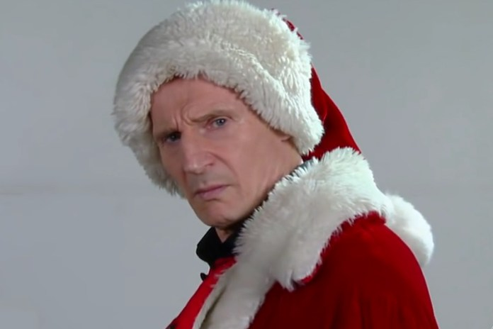 Watch Liam Neeson Audition to Play Santa Claus