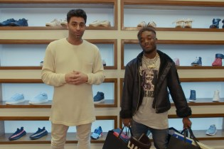 Lil Uzi Vert Hits Atlanta's A Ma Maniere for a Sneaker Shopping Break